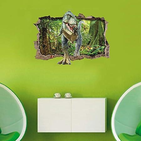 Zooarts beb/é Dinosaurios Adhesivo Decorativo para Pared Adhesivos para ni/ños decoraci/ón de la habitaci/ón
