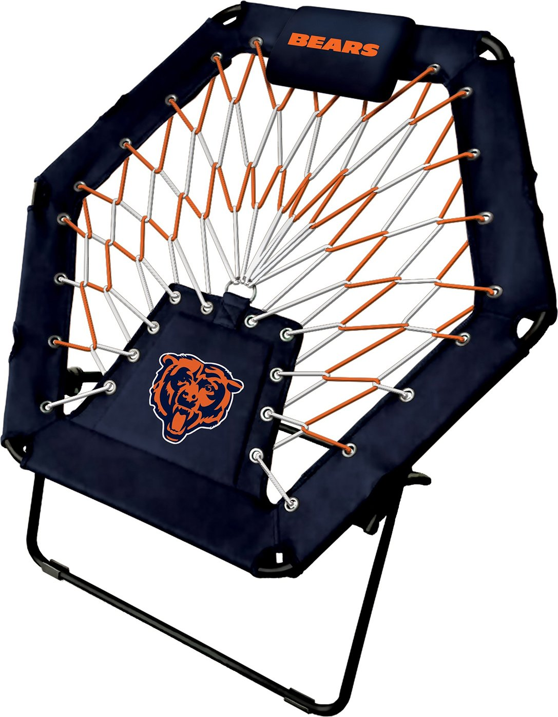Imperial Officially Licensed NFL Furniture: Premium Bungee Chair, Chicago Bears by Imperial