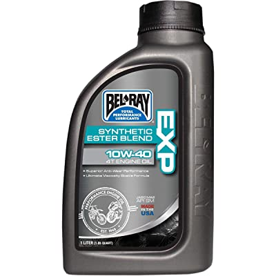 5.Bel-Ray EXP Synthetic Ester Blend 4T Engine Oil - 20W50 - 4L.