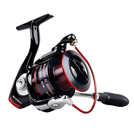 Review KastKing Sharky II Fishing Reel - Smooth Spinning Reel - 10+1 Superior Ball Bearings-Brass Gears at An Affordable Price