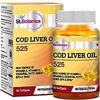 St.Botanica COD Liver Oil 525-90 Softgels