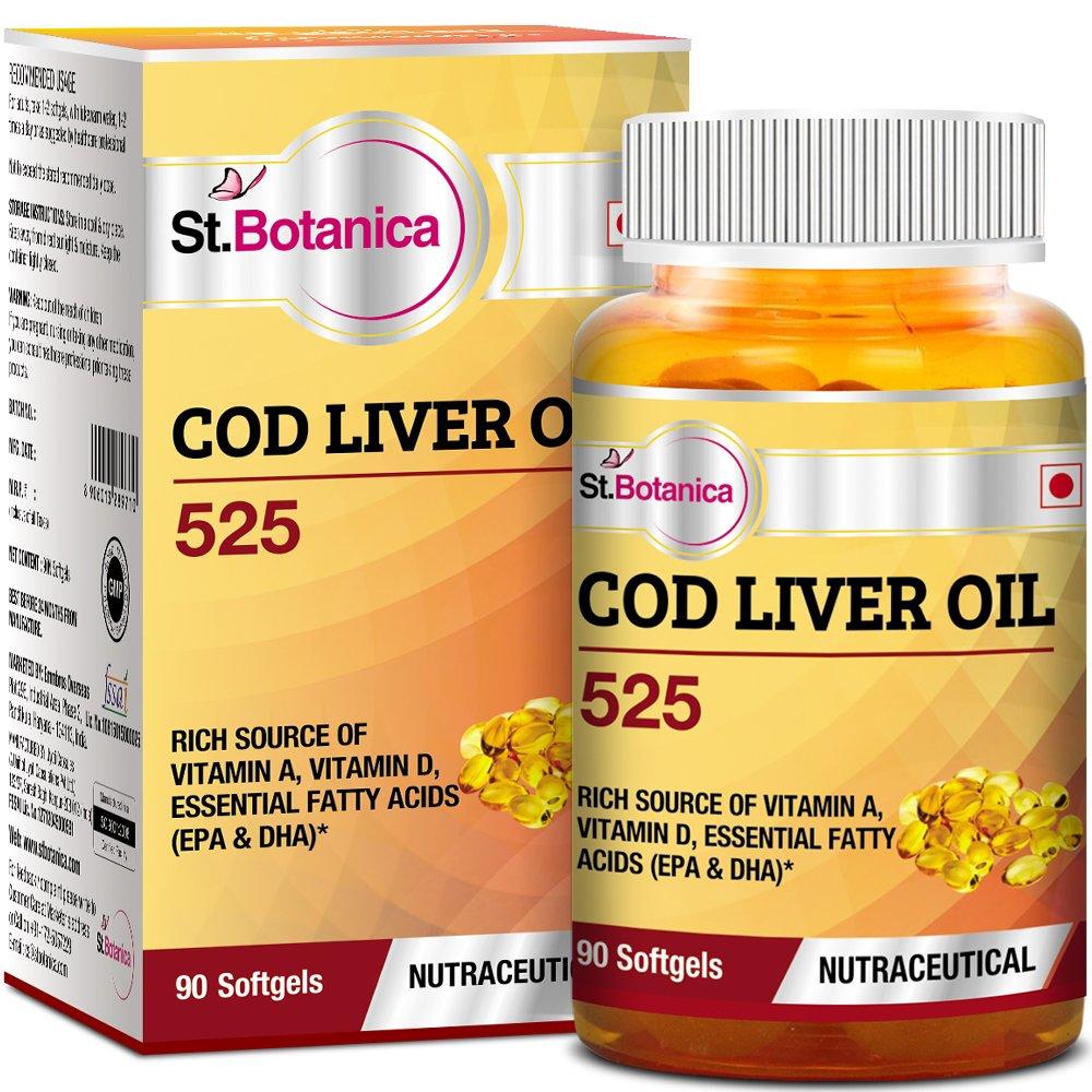 St.Botanica COD Liver Oil 525-90 Softgels product image