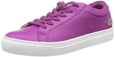 Lacoste L.12.12 117 1 Caw, Bajos para Mujer, Morado (Violet PURP), 35.5 EU