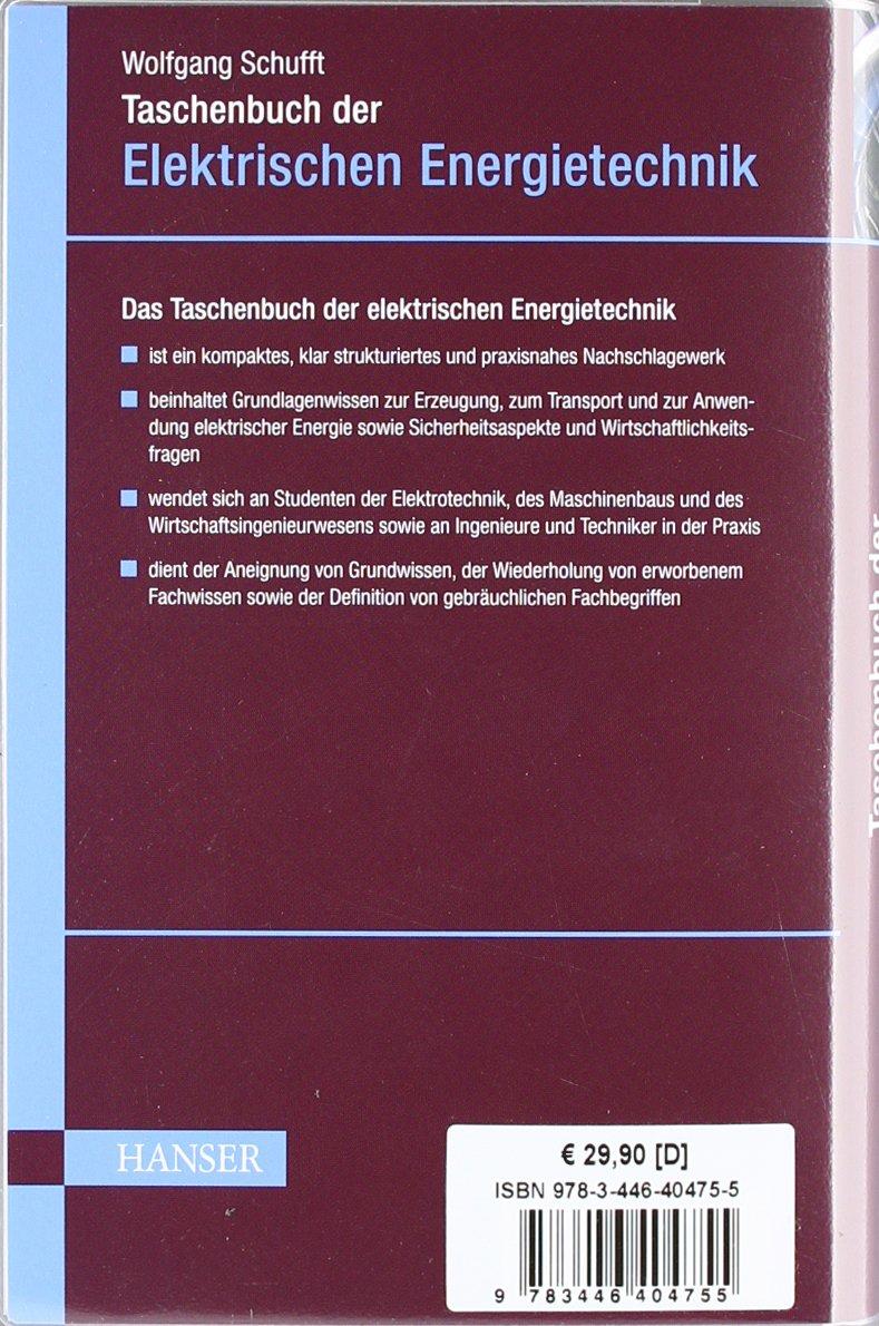 Taschenbuch der elektrischen Energietechnik: Amazon.de: Wolfgang ...
