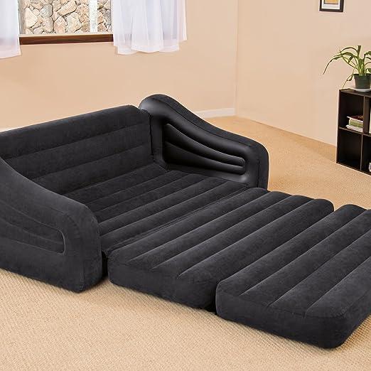 Camping (- Colchón hinchable y sofá cama tamaño Queen para ...