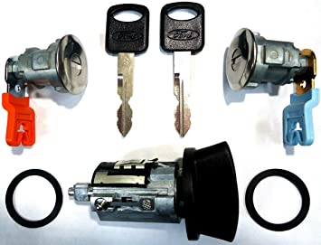 ford e 150 starter switch wiring amazon com ford ignition switch lock cylinder pair  2  door  ford ignition switch lock cylinder