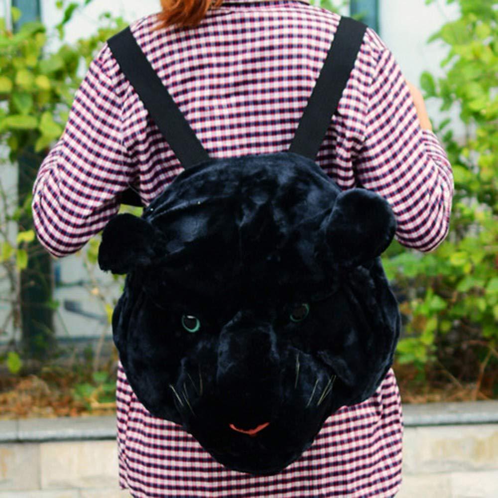 Funny Simulation Animal Head Double Shoulder Bag Backpack Zipper Bag Lightweight Backpack for Women Men Hot Sale Clearance