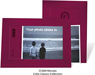 "product image for Photo Note Cards for 4"" x 6"" image 10 Pack with Envelopes ColorClassics (Marsala)"