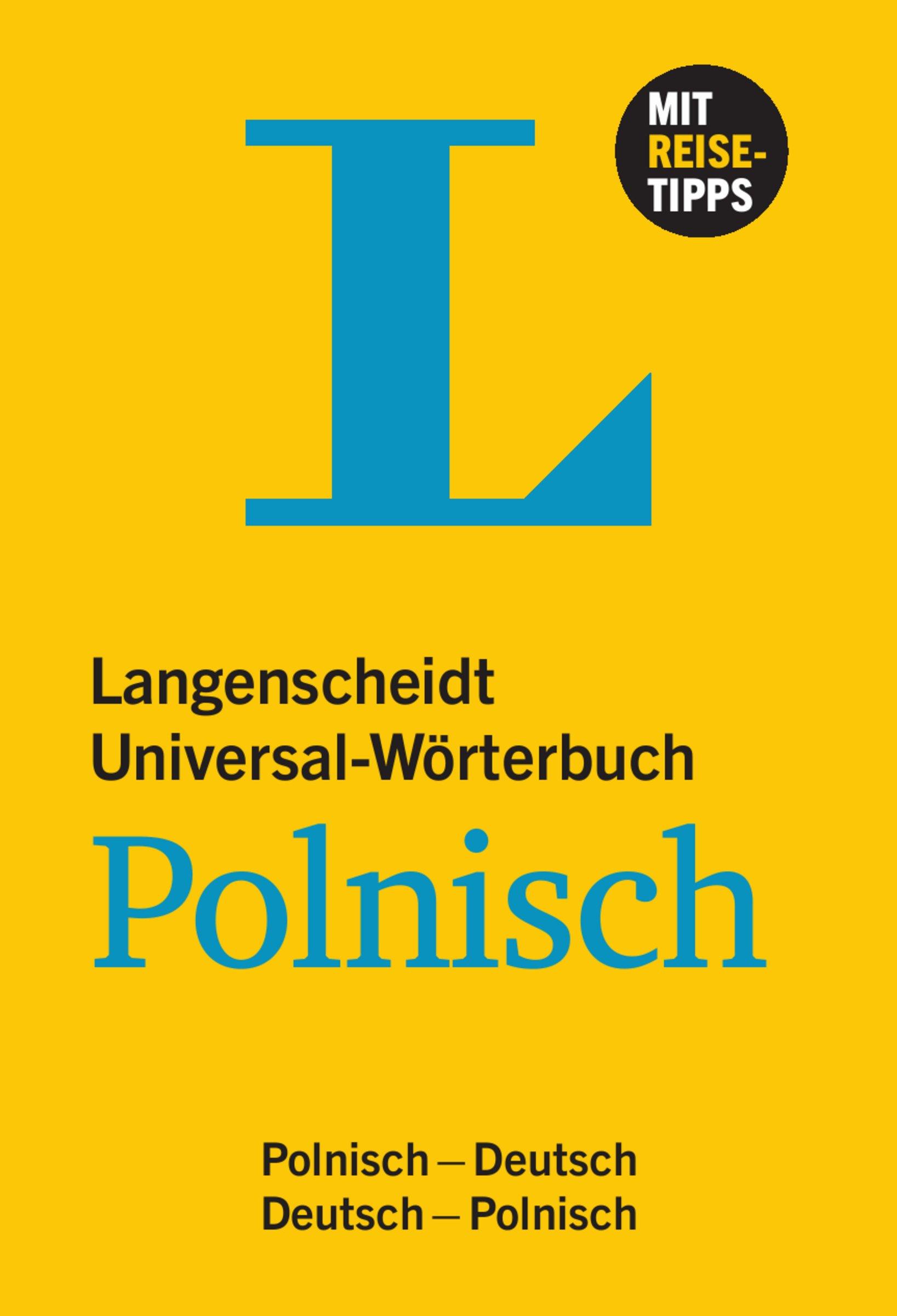 Langenscheidt Universal-Wörterbuch Polnisch - mit Tipps für die