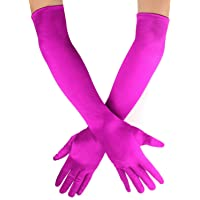 Beelittle 1920 lange avondopera-handschoenen Stretch satijnen ellebooghandschoenen Bruidsfeestfeestfeest Handschoenen in…