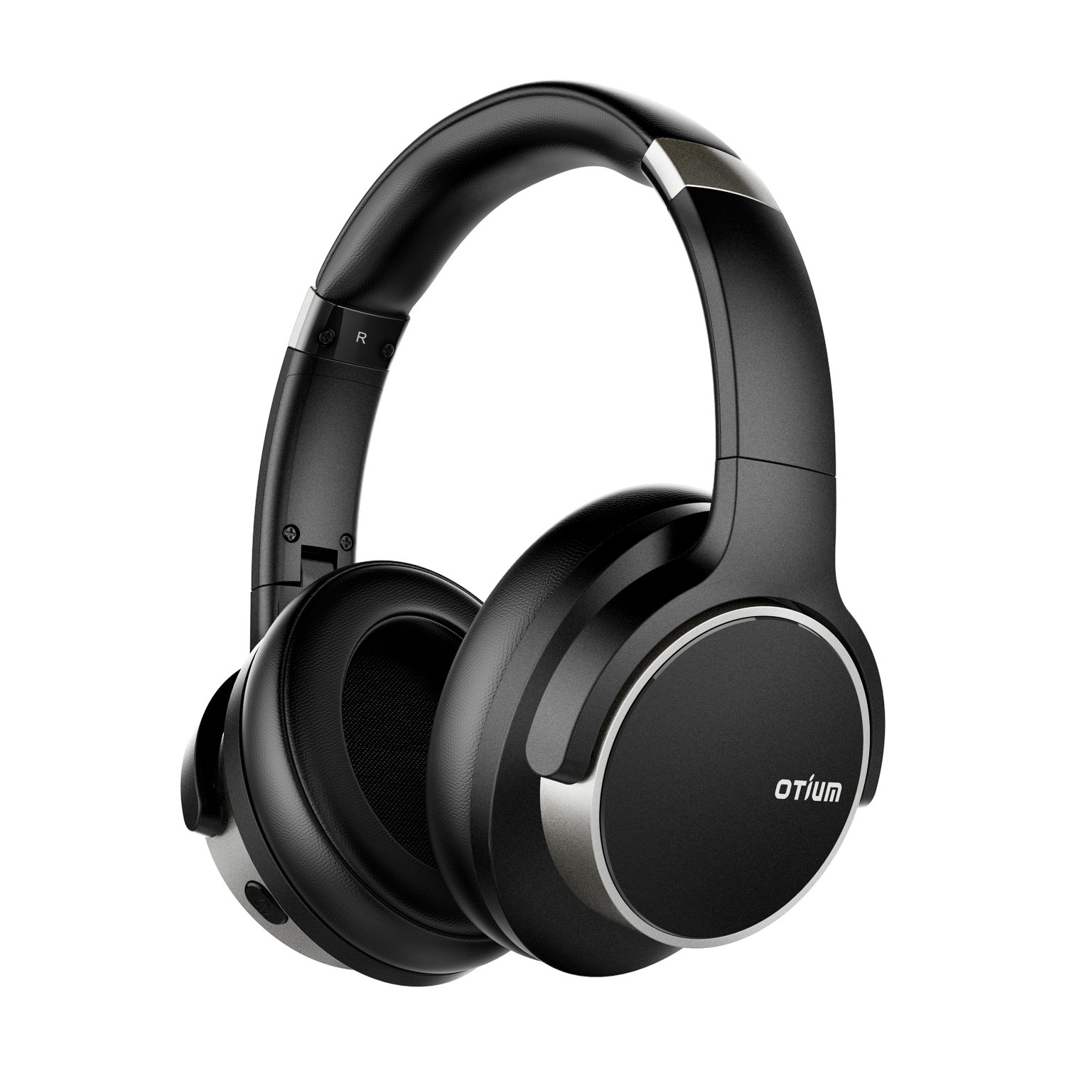 Otium Noise Cancelling Headphones,  Wireless Headphones Over Ear Bluetooth Headphones with Mic Deep Bass, Foldable Comfortable Earpads 30H Playtime for Travel/Work/TV/Computer/Cellphone by Otium