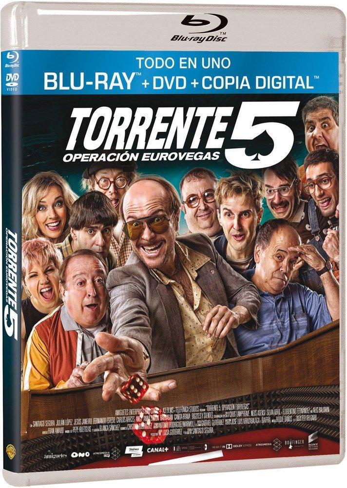 Torrente 5: Operación Eurovegas BD + DVD + Copia Digital Blu ...