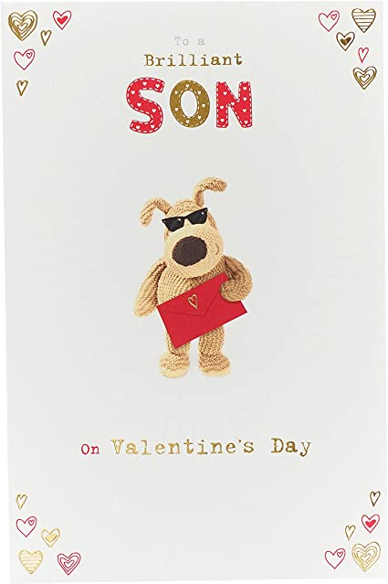 Uk Greetings Son Valentine S Day Card Valentine S Day Card For Son Boofle Valentine S Card For Him