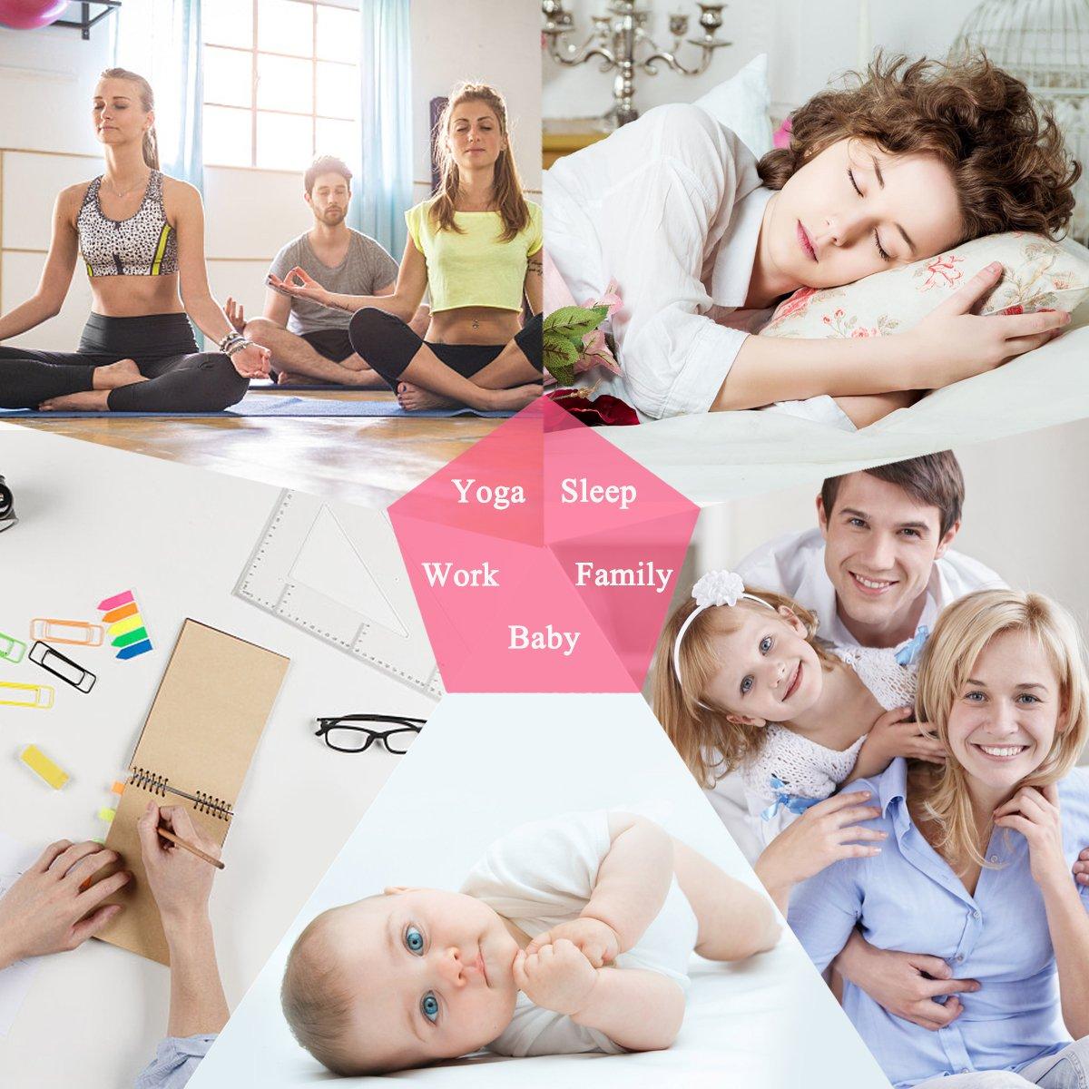 skymore Eterna Flor del Aromaterapia Difusor Aceite Esencial para la habitaci/ón de cama de casa de oficina sal/ón Studio dello yoga spa
