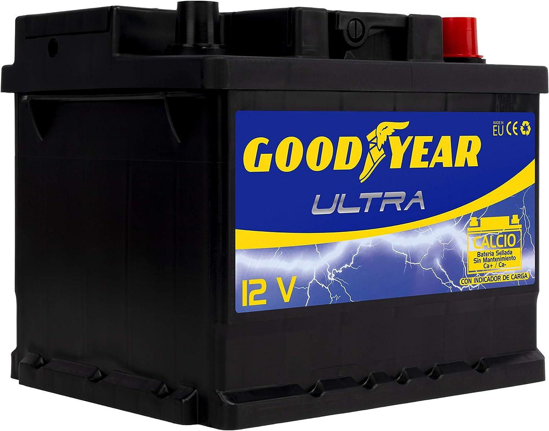 Goodyear GODF150 Bateria de coche Ultra 12V 50Ah 420A +D, 45Ah 320A