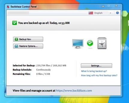 Backblaze - Online Backup Mac [Online Code]