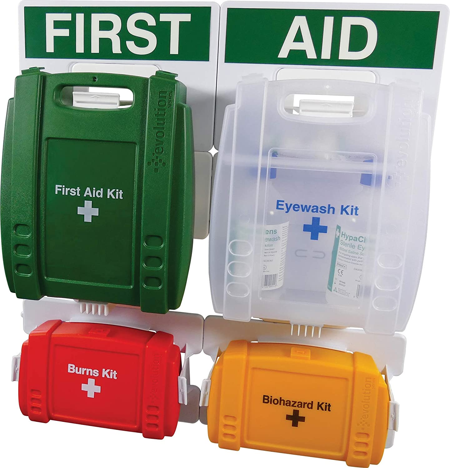Safety First Aid Group HSE First Aid Station (1-10 Person) FAP07EV