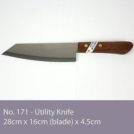 Amazon.com: deba-style flexible cuchillo tailandés (# 171 ...