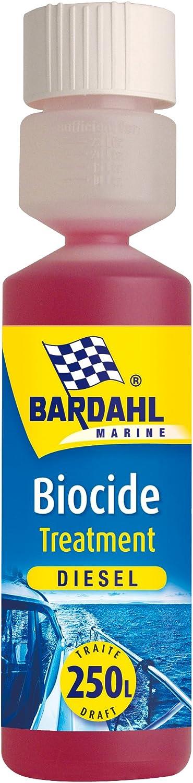 Bardahl 43010 - Tratamiento biocida diésel – Bactericida y fungicida
