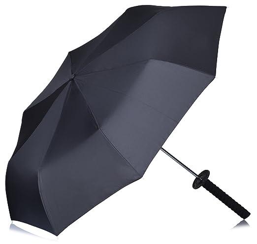 57 opinioni per VENKON- Ombrello Spada Ninja- con tracolla e manico in disegno della Katana-