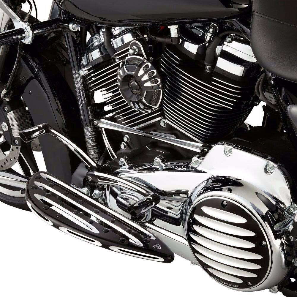 cuerno para moto Black Deep Cut cuerno cuerno Harley para 1991 - 2017 Harley FLT Touring Big Twin: Amazon.es: Coche y moto