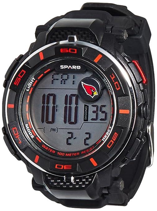 d20d8c4b1 Amazon.com  Rico Men s Digital Power Watch Arizona Cardinals  Sports ...