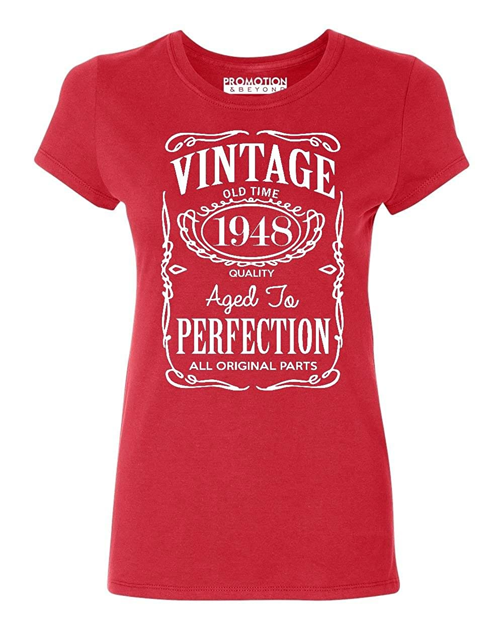 Promotion & Beyond 70th Birthday Vintage 1948 Women's T-Shirt