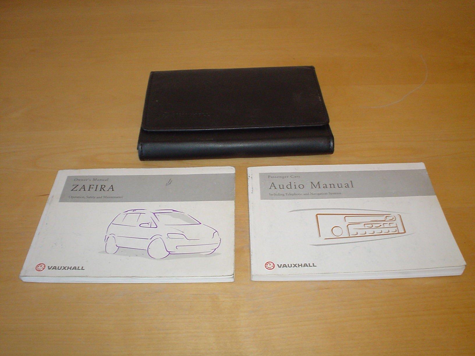 vauxhall opel zafira a owners manual handbook 1999 2005 1 6 rh amazon co uk 2002 zafira owners manual pdf zafira 2002 owners manual