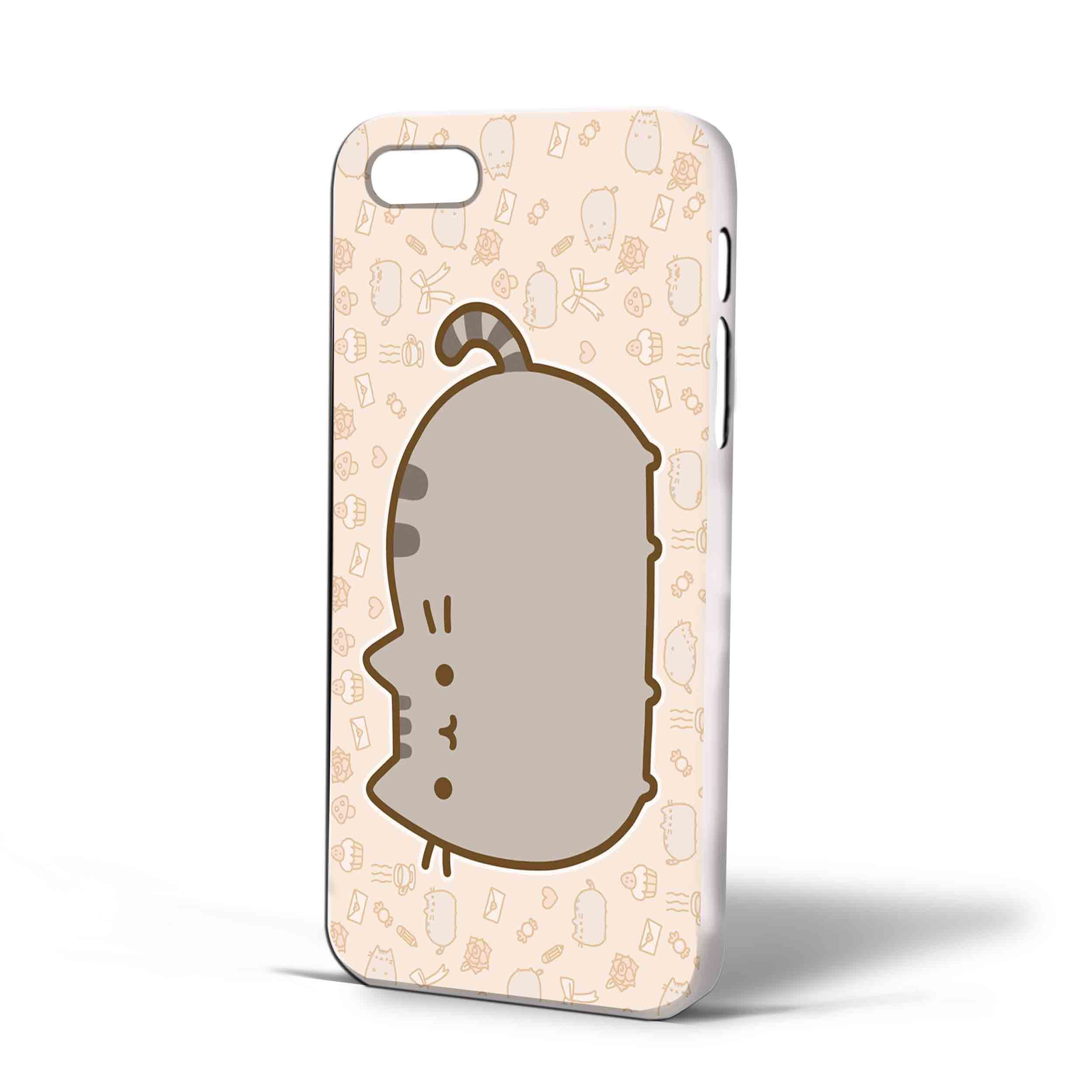 brand new eb571 6a950 Amazon.com: Pusheen Cat for Iphone Case (iPhone 6s White ...