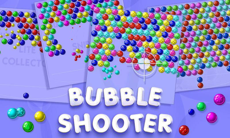 Bubble shooting games apps