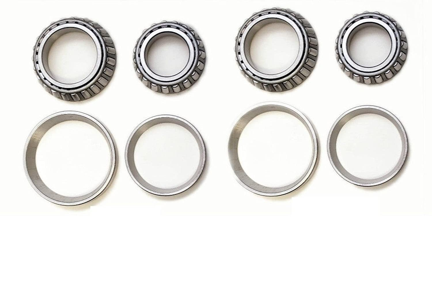Front Left & Right Wheel Bearing Kit Fit JEEP CJ7 (2WD 4WD) 1977 1978 1979 1980 1981 1982 1983 1984 1985 1986 8USAUTO
