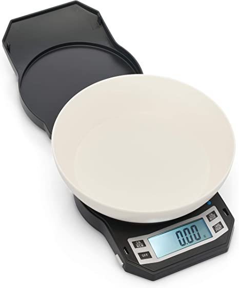 American Weigh Scales Lb 501 Digital Kitchen Scale Gray Amazon Ca Home Kitchen