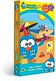 Quebra Cabeça 2/3/4 Galinha Pintadinha Mini Meu Toyster Brinquedos