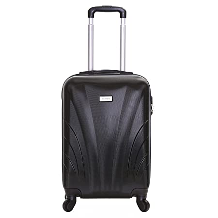4a1da1cfac Slimbridge Ferro Super Lightweight ABS Hard Shell Travel Cabin Carry On  Hand Luggage Suitcase with 4