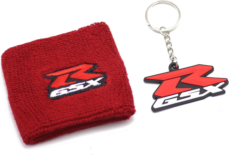 Suzuki GSXR Red Clutch Reservoir Cover by MotoSocks Fits GSXR 750 1300 TL 1000 Hayabusa 1000 Katana 600 GSX-R SV 650