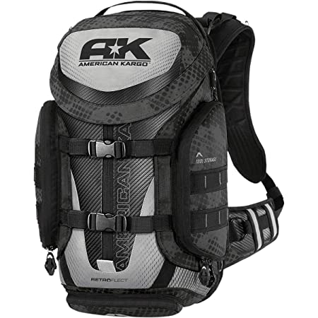American Kargo 3517-0329 Black Trooper Backpack