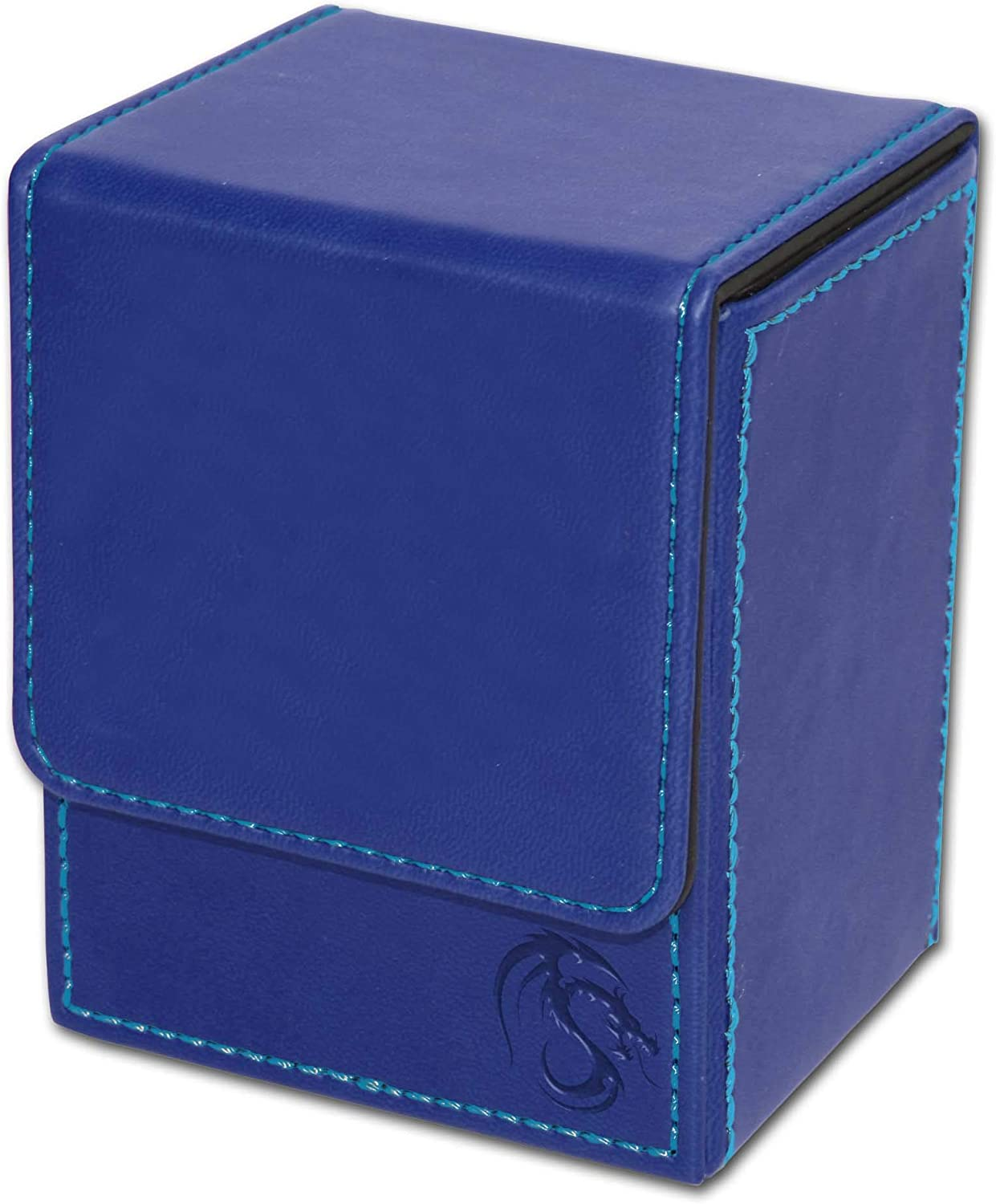 5 BCW BLUE DECK CASE MAGIC THE GATHERING MTG DECK PROTECTOR BOX