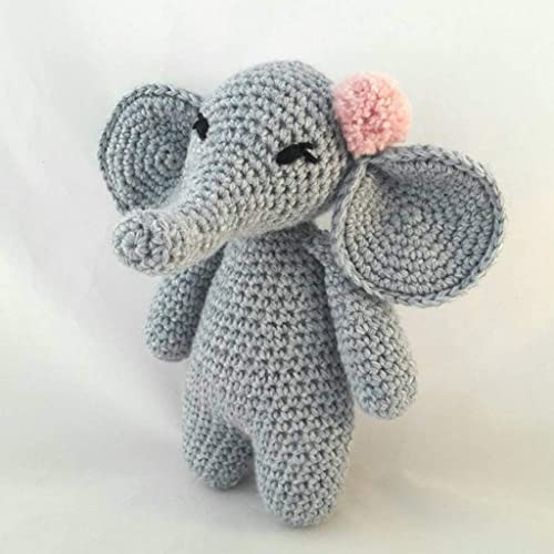 Esther the Elephant Free Amigurumi Pattern | Jess Huff | 500x500