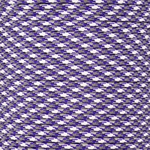 Paracord Planet 550 Cord Type III 7 Strand Paracord 25 Foot Hank - Purple Passion Camo