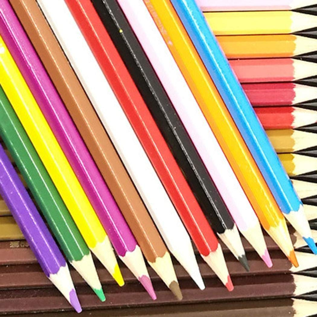 Lantusi 72 Colors Safe Water Soluble Colored Drawing Pencil Set Mechanical Pencil Leads by lantusi (Image #3)