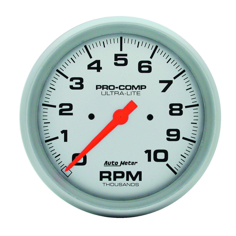 Auto Meter 4498 Ultra-Lite In-Dash Electric Tachometer