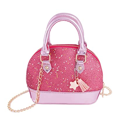 317210752f6e Image Unavailable. Image not available for. Color  RockPanda Princess  Little Girls Mini Dome Satchel Crossbody Bag ...