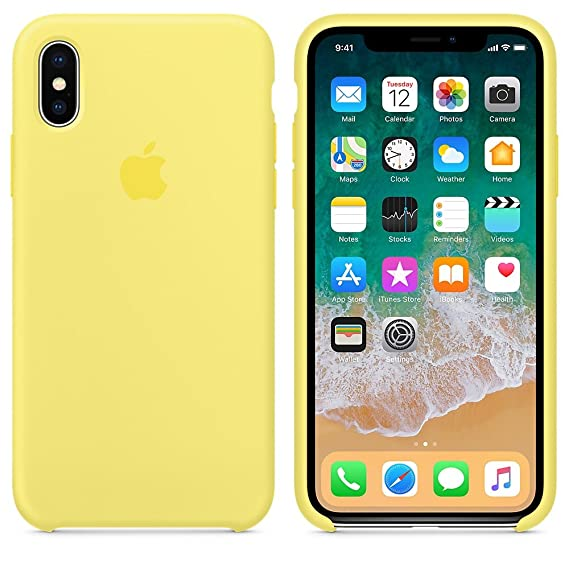 Amazon.com: El último Verano Funda iPhone X, Slim Líquido de ...
