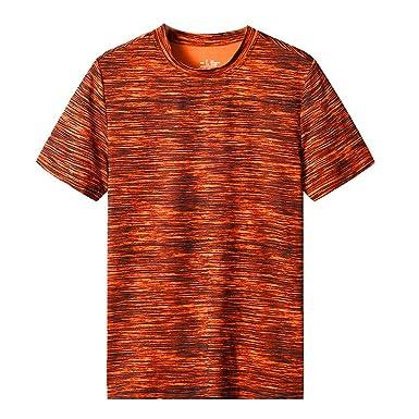 Vectry Verano De Los Hombres Casual O-Cuello Camiseta ...