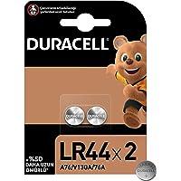 Duracell Özel LR44 Alkalin Düğme Pil 1,5V, 2'li paket (76A / A76 / V13GA) oyuncaklar, hesap makineleri ve ölçüm…