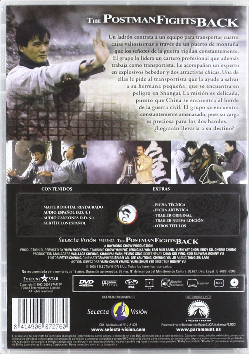 The Postman Fights Back (El Contraataque [DVD]: Amazon.es ...