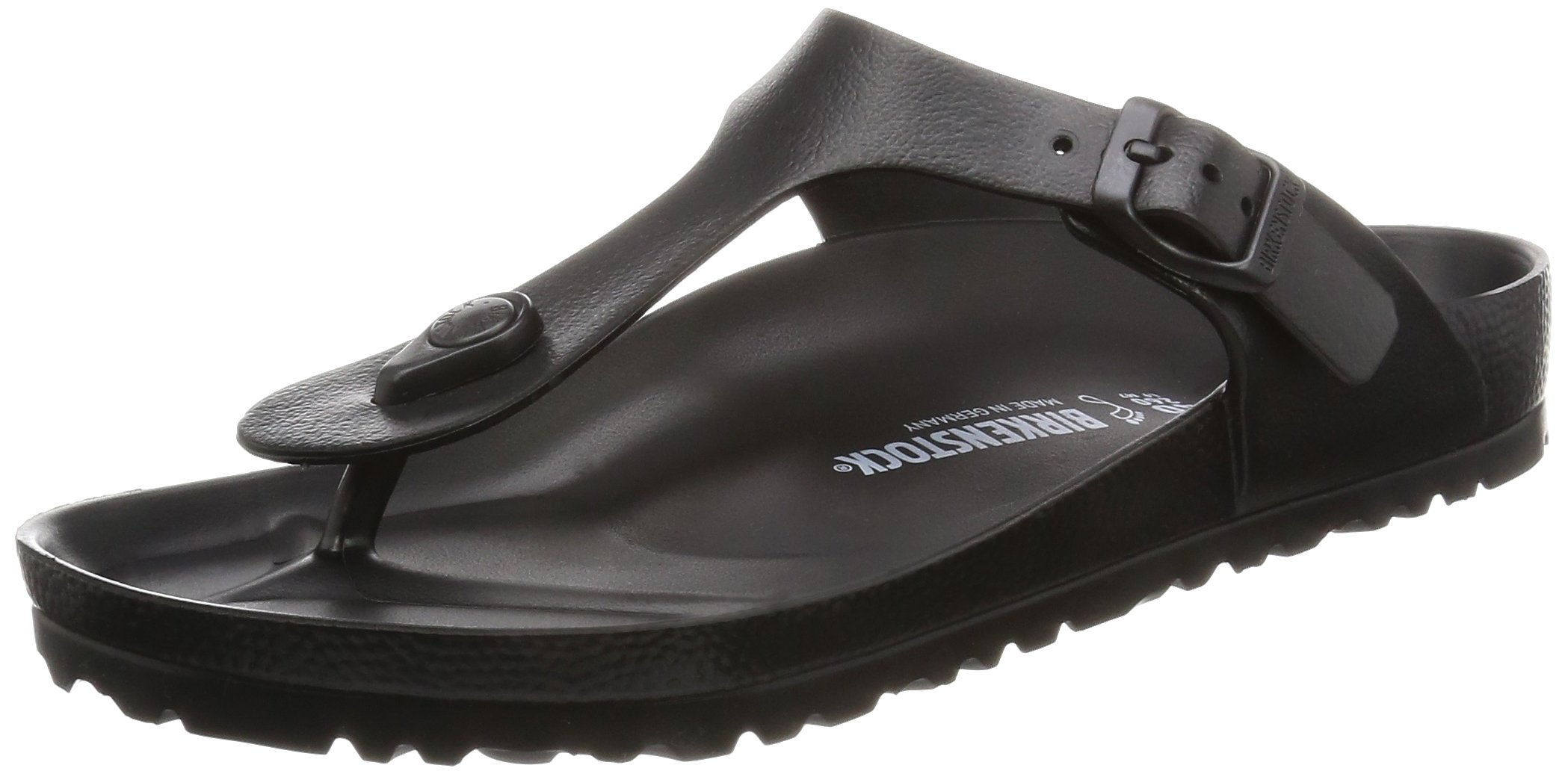 Birkenstock Women's Gizeh Black EVA Sandals 41 (US Women's 10-10.5) by Birkenstock