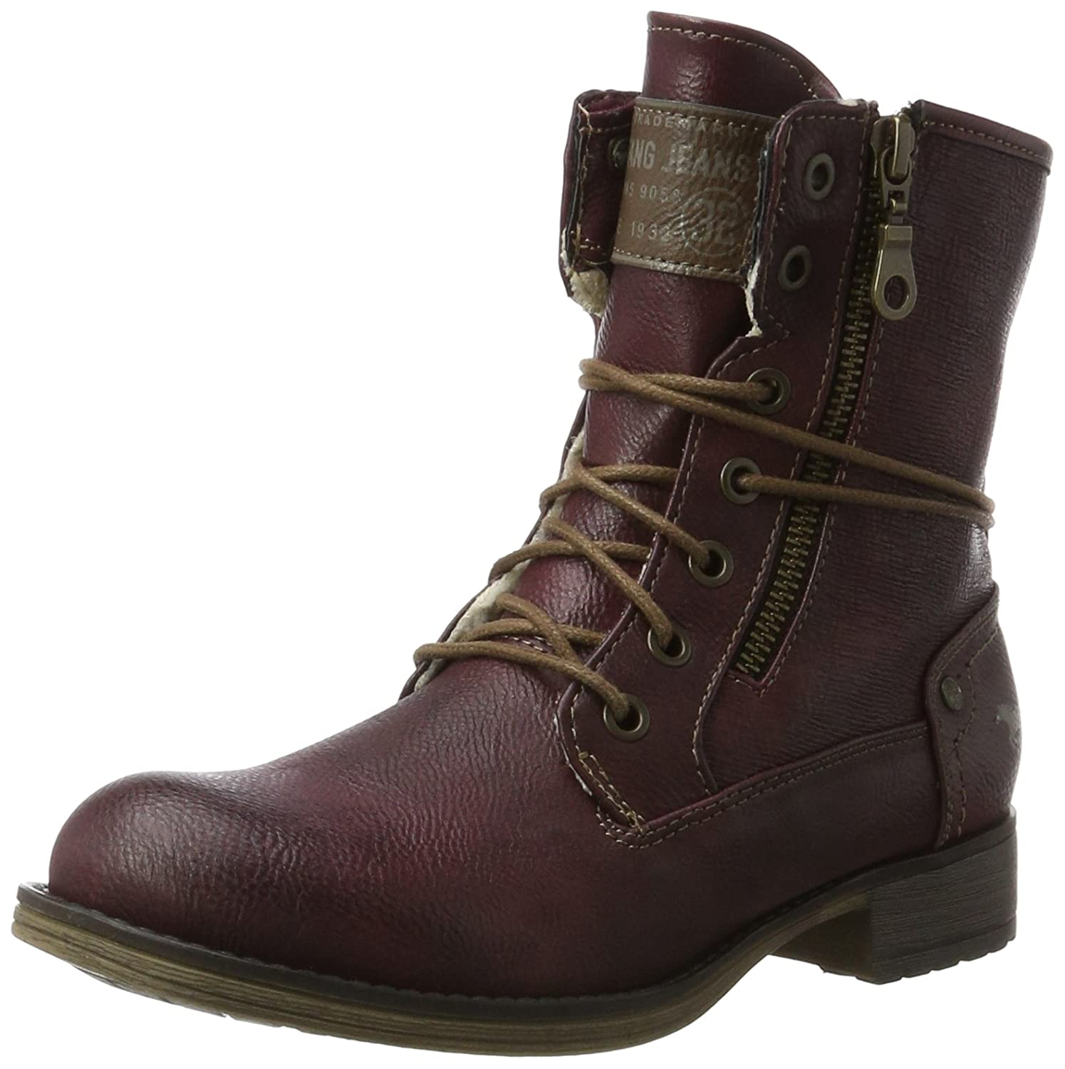 Mustang Mustang 1139-629-55, Bottes 17743 Rouge Femme Rouge (Bordeaux) 77939b2 - fast-weightloss-diet.space