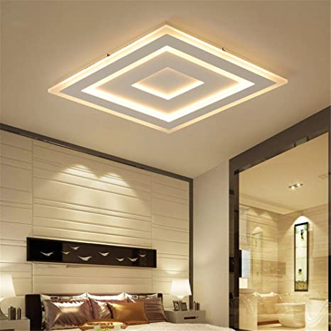 Ultra-Thin Surface Mounted Modern Led Ceiling Lights Lamparas De ...
