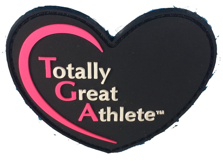 TGA Glossy Bright Blue Heart Ice Skating Bag Tennis Gym and Ballet Girls Athletic Bag